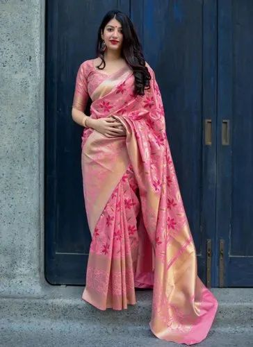 31e1508a554 Banarasi Silk Wedding Sarees