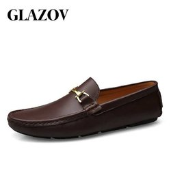 Brown Daily Wear Men Shoes