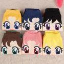 Sailor Moon Cartoon Print Socks