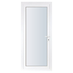 UPVC Door With Frosted Glass