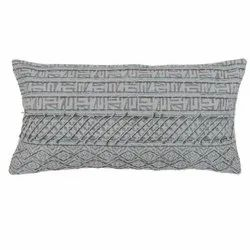 Elegantly Designed Printed Embroidered Cotton Pillow Cover