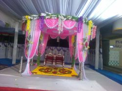 Folding Cloth Chori Mandap