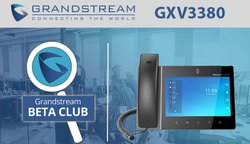 Grandstream GXV3380 16-Line Android IP Video Phone