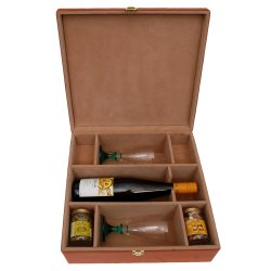 KC 504 Wooden Wine Bottle Box