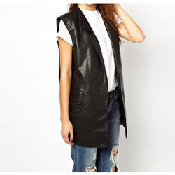 Ladies Trendy Leather Jacket