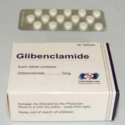 Glibenclamide Tablet, 30 Tablets, Treatment: Type 2 Diabetes