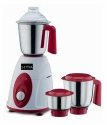 Stainless Steel Red, White Livya Mixer Grinder Baise For Home Application