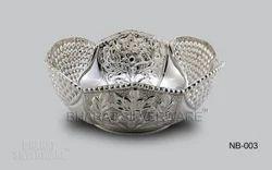 Decorative Pure Silver Bowl