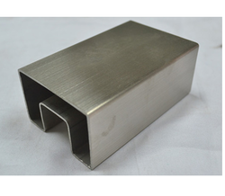 Stainless Steel Rectangle Slot Tubes