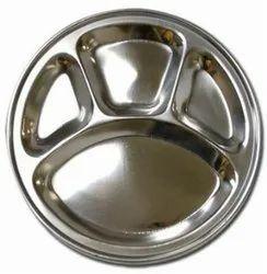 Silver Plain Divide Plate