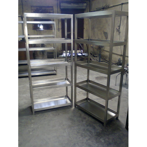 Stainless Steel Heavy Duty Racks, For Supermarket And Office