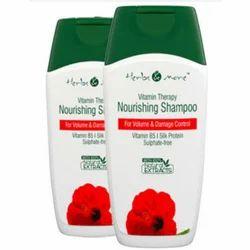Herbs & More and Vitamin Therapy Nourishing Hair Shampoo