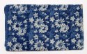 Hand Block Floral Dabu Printed Cotton Fabric