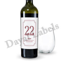 Wine Label Printing