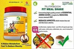 MYRECHARGE AYURVEDA Fit Meal Shake, Weight Loss Ayurvedic Product, , Pack Size: 200 gm