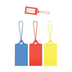 3x2 Inches Plastic Luggage Tag