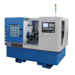 Mild Steel Semi-Automatic CNC Lathe Machine