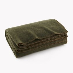 Grey Green Blankets
