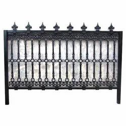 Black Cast Iron Railing
