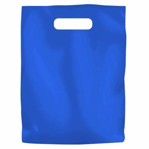 Blue LDPE Bag, LDPE Shopping Bag, Low Density Polyethylene ...