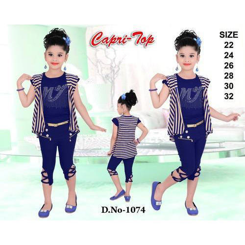 Cotton Kids Fancy Top Capri