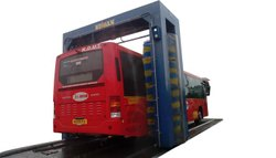 Automatic Bus Washing System