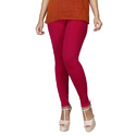 Sassy Curves Casual Wear Deep Rani Cotton Lycra Kali Ankle Length Leggings, Size: Free Size