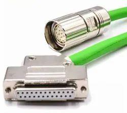 Siemens Servo Encode Cable 6fx5002-2ca31-1ba0 For Siemens 1fk7 Servo Motor Encoder