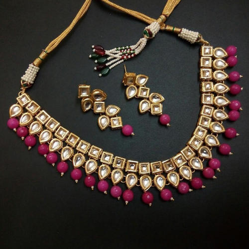 Kundan Jewelry Set: Kundan Jewelry Set Wedding Ethnic Necklace Set, Kundan Ke