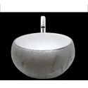 Silver Round Table Top Wash Basin