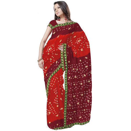 2c91978a11 Multicolor Rathi Rajasthani Saree, Rs 450 /piece, Rathi Silk And ...