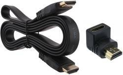 ROQ HDMI Flat Male To Female Cable with Connector