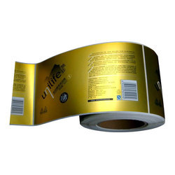 PVC Product Packaging Label, Packaging Type: Roll