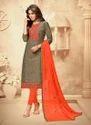 Handloom Cotton Daily Wear Churidar Suit