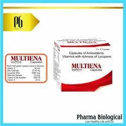 Multiena Antioxidant, Vitamins & Lycopene Capsules