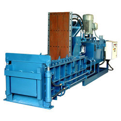 Double Compression Hydraulic Scrap Baling Press