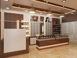 Spectacles Showroom Interior Designing