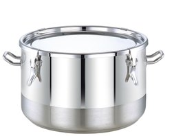 Stainless Steel Medium Cook Pot With Lock