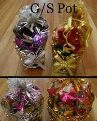 G/S POT with handmade chocolate (100GMS) /TALLENT