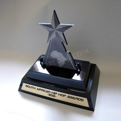 1021 Designer Star Shape Trophy
