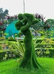 Wire Animals Topiary Figure