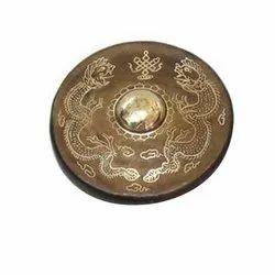 Round Metal Bowl