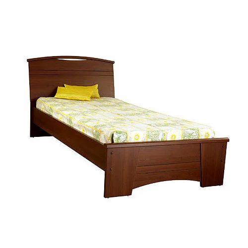 Modern Wooden Single Bed