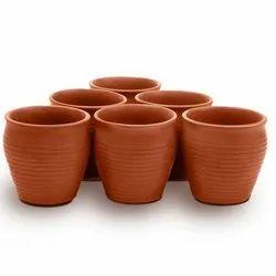 Ceramic Brown Kulhar