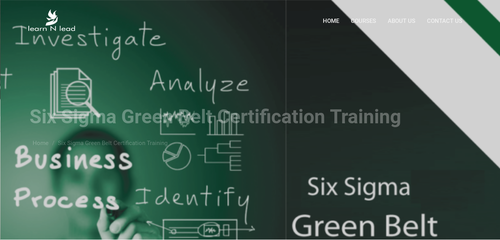 Six Sigma Green Belt Certification Training in Sector 59, Noida ...