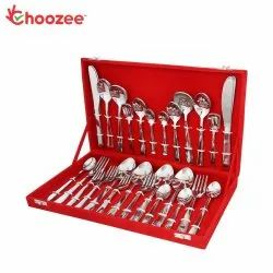 Choozee - Two Tone Copper Stainless Steel Cutlery Set (24 Pcs)