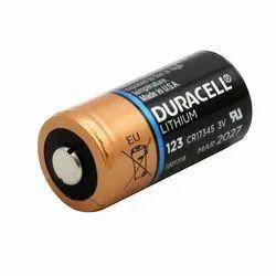 CR123A Duracell 3 Volt Lithium Battery