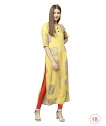 Magnificent Cotton Printed Casual Wear Kurti