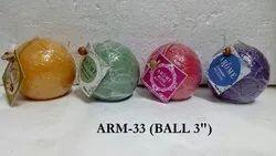 3 Ball Candle