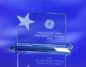 Glass Star Acrylic Trophy